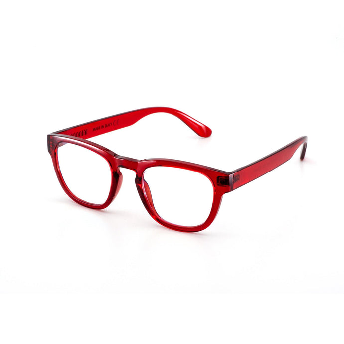 Nuovo Paris Red Reading Glasses by Nannini of Italy, with Case