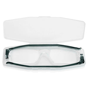 Nannini Compact 1 Italian Made Folding Reading Glasses with Case; Grey - ReadingGlasses.CO/