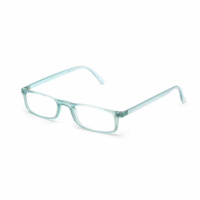 Quick 7.9 Reading Glasses from Italy's Famous Nannini, Water Green