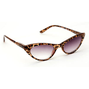 Miss Kitty Cat Eye Sunreaders with Case