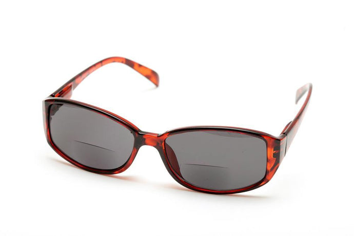 Mission Impossible Bifocal Tortoise Sun Reading Sunglasses by VisAcuity