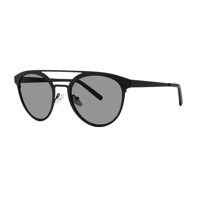 Varadero Aviator Sunglasses with Soft Pouch, Matte Black