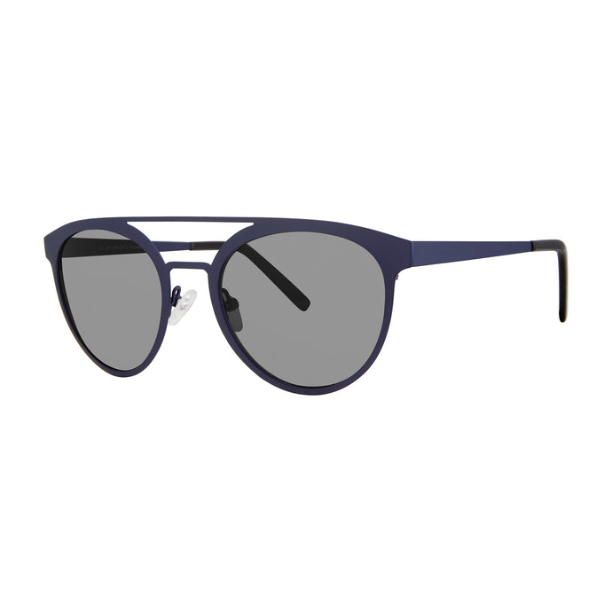 Varadero Aviator Sunglasses with Soft Pouch, Matte Navy