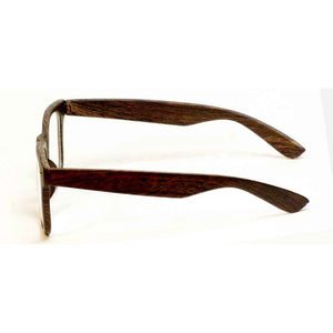 Woody Optical-quality Classic Reading Glasses with Case by VisAcuity [1.75 diopters]
