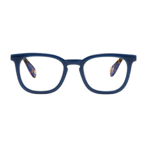 Baird Ophthalmic-quality Blue Light Reading Glasses; Cobalt