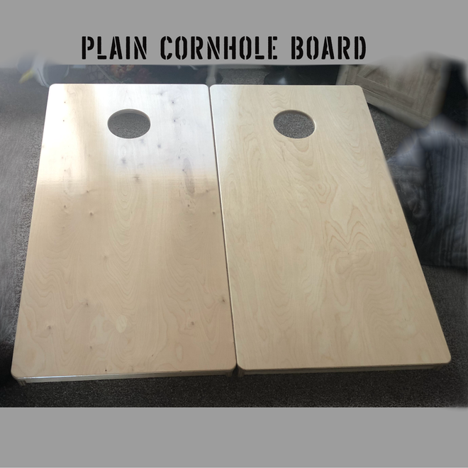 Plain Cornhole Boards