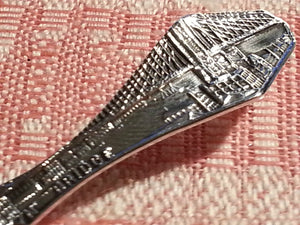 Antique 20thC sterling silver spoon New York USA Paye Baker MFG co