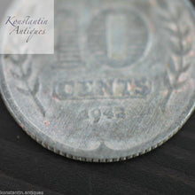 Load image into Gallery viewer, Vintage 1942 coin 10 cents Netherland great old gift