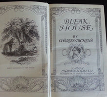"Load image into Gallery viewer, Antique 1907 book by Charles Dickens ""Bleak House"" London British Empire"
