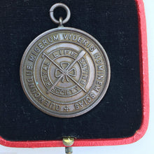 Load image into Gallery viewer, ROYAL LIFE SAVING SOCIETY MEDAL ESTABLISHED 1891 boxed c.1939