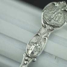 Load image into Gallery viewer, Antique sterling silver spoon California Los Angeles 1814 Eureka 1770