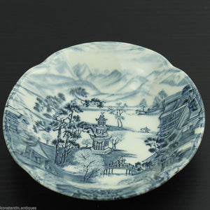 Vintage porcelain bowl Johnson Bros China Enchanted Garden