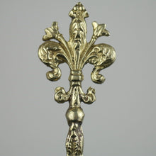 Load image into Gallery viewer, Antique solid brass ornamented strainer French Royal flower dancing couple eagle