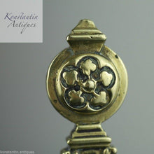 Load image into Gallery viewer, Antique solid brass letter opener / page turner Royal British Empire nice great