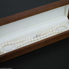 Load image into Gallery viewer, Freshwater Pearls necklace bead clasp sterling silver
