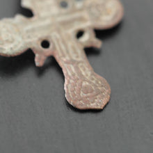 Load image into Gallery viewer, Antique solid cross Russian Empire Orthodox old Believers