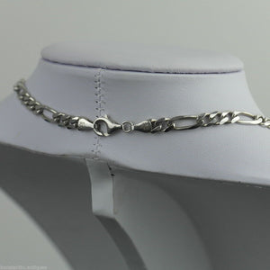 Vintage 5mm sterling silver necklace neck chain made in Italy 925