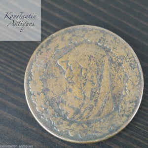 Antique 1787 Anglesey Penny Token British Empire 18thC