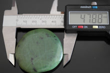 Load image into Gallery viewer, Natural Jade dark green Nephrite stone polished rare gift great gem