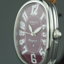 Load image into Gallery viewer, Giorgio Grimoldi Milano Burgundy Borgonovo SM Automatic Ladies wristwatch