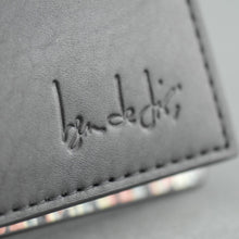 Load image into Gallery viewer, Ben de Lisi London black real leather wallet card holder
