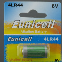 Load image into Gallery viewer, Eunicell Alkaline battery 4LR44 PX28A A544 L1325 4LR44 K28A V34PX 6.0V car key fob