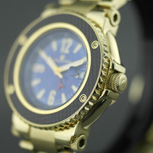 Load image into Gallery viewer, Constantin Weisz 21 jewels Gent's Gold plated sport Automatic wrist watch with bracelet 10ATM