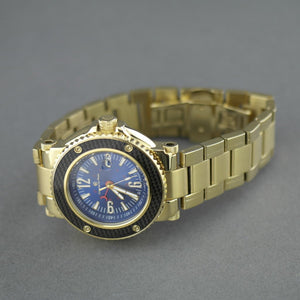 Constantin Weisz 21 jewels Gent's Gold plated sport Automatic wrist watch with bracelet 10ATM