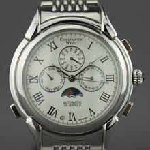 Load image into Gallery viewer, Constantin Weisz Gents Automatic 20 jewels wrist watch calendar and night day