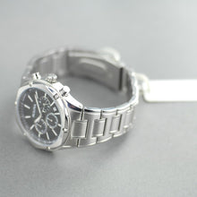 Load image into Gallery viewer, Bulova Chronograph watch Black dial Stainless steel bracelet