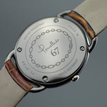 Load image into Gallery viewer, Pomellato 67 Limited Edition Ladies wristwatch with Diamonds with brown strap