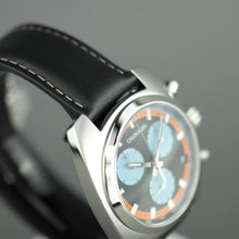 Load image into Gallery viewer, Calvin Klein Chronograph wrist watch Swiss made with black band
