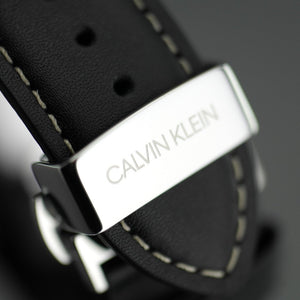 Calvin Klein Chronograph wrist watch Swiss made with black band