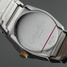 Load image into Gallery viewer, Calvin Klein Step wrist watch with silver dial and date