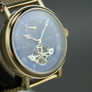Constantin Weisz Limited Edition open heart automatic wrist watch 34 jewels