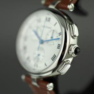 Louis Erard Chronograph wrist watch with strap Romance Collection