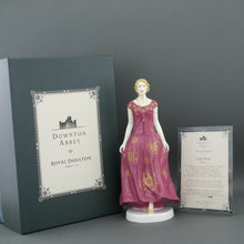 Load image into Gallery viewer, Downton Abbey Lady rose handmade bone china figurine