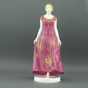 Downton Abbey Lady rose handmade bone china figurine