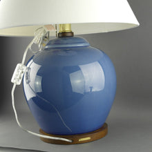 Load image into Gallery viewer, Ralph Lauren Chinese Porcelain Monochrome Powder Blue Meredith Table Lamp