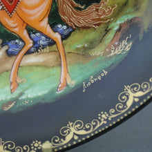 Load image into Gallery viewer, Wall Decor Russian Tales - Ruslan and Ludmilla - Plate Vinogradov Porcelain