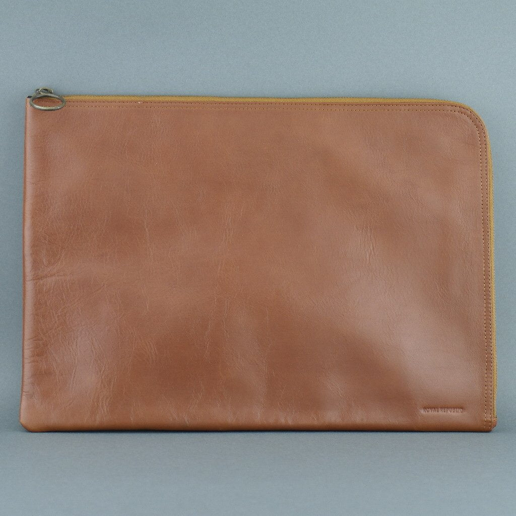 Royal Republiq Genuine Leather Tenacity Laptop Sleeve case bag cover