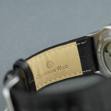 Load image into Gallery viewer, Constantin Weisz automatic open heart wrist watch 22 jewels date