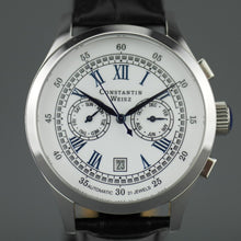 Load image into Gallery viewer, Constantin Weisz Classic Automatic wrist watch with date and leather strap