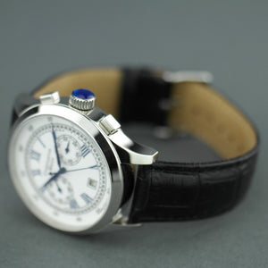 Constantin Weisz Classic Automatic wrist watch with date and leather strap