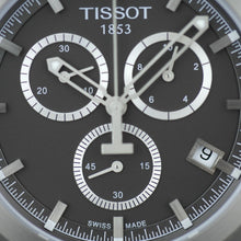 Load image into Gallery viewer, Tissot T-Sport Titanium date Chronograph Men's Anthracite dial wrist watch