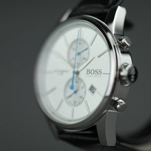 Load image into Gallery viewer, Hugo Boss Jet Mens Chronograph Watch with leather strap and day