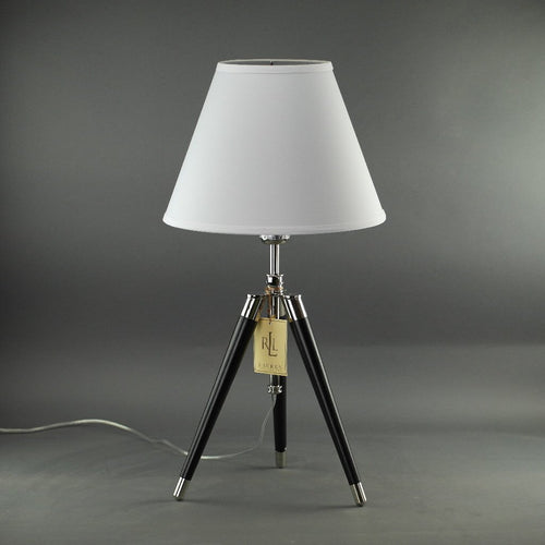 Ralph Lauren Irwin Surveyor Style Tripod Lamp