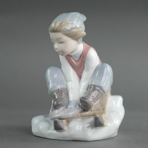 Lladro, Look out below!, from Daisa / Daisy Collection Porcelain figure
