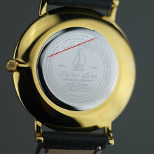 Load image into Gallery viewer, Paul Hewitt Sailor super-flat wrist watch with Swiss movement and Leather strap