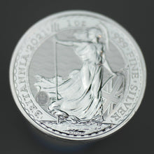 Load image into Gallery viewer, 2021 Britannia 1 oz Silver Coin Bullion 999 Fine Silver